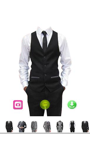 London Man Suit Photo Edit