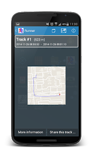 Runner (Jogging tracker)- screenshot thumbnail