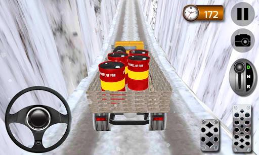 4×4爬坡卡車司機3D