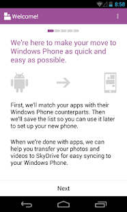 Switch to Windows Phone - screenshot thumbnail