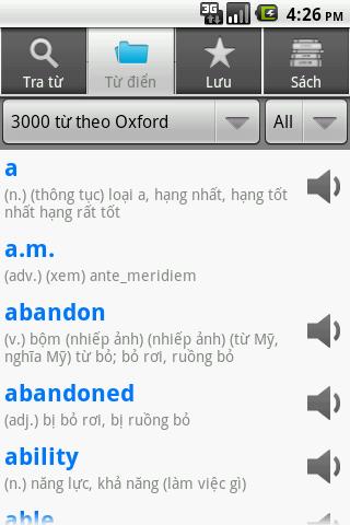 Từ Điển Anh Việt - Vlook - screenshot