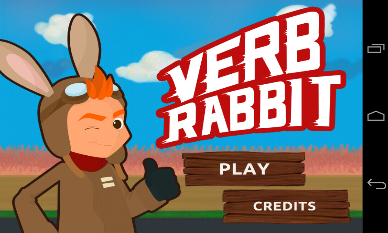 Verb Rabbit- screenshot