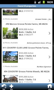Michigan Real Estate Search- screenshot thumbnail