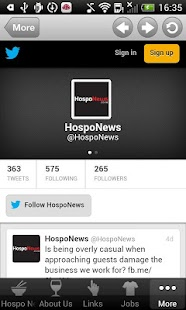 Hospo News - screenshot thumbnail