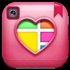爱拼贴制造商-照片编辑器 icon