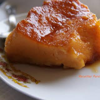 Maria's Orange and Almond Pudding.