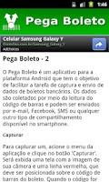Screenshot of Pega Boleto