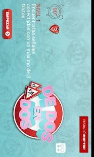 De dos en dos- screenshot thumbnail