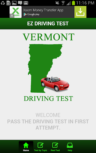 Vermont Driving Test