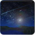 Meteors star firefly Wallpaper icon