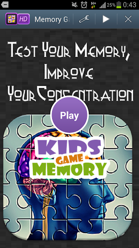 Improve Your Memory Game