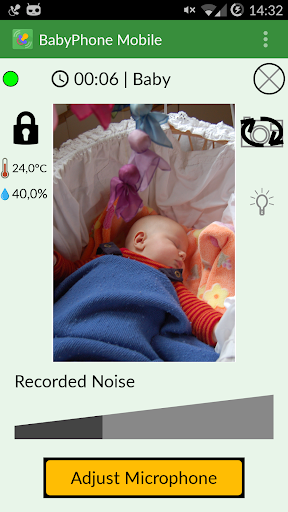 BabyPhone Mobile: Baby Monitor