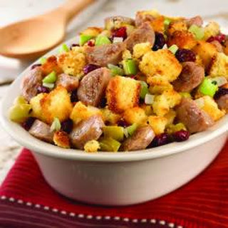 Cornbread Stuffing with al fresco® Sweet Apple Chicken Sausage