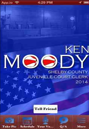 Ken Moody Mobile App