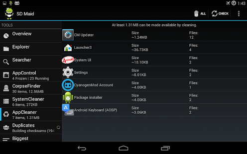 App SD Maid Pro - Unlocker apk for kindle fire