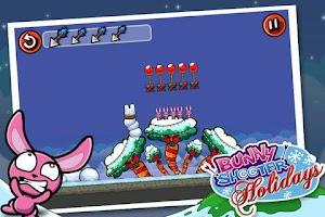 Screenshot of Bunny Shooter Christmas