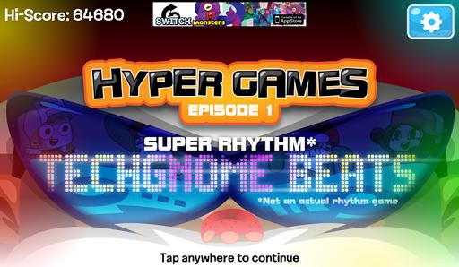 HyperGames Ep1:Techgnome Beats