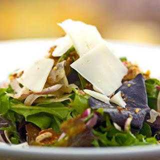 Arugula Salad with Fig Balsamic & Spiced Walnuts- Wine Country Trattoria