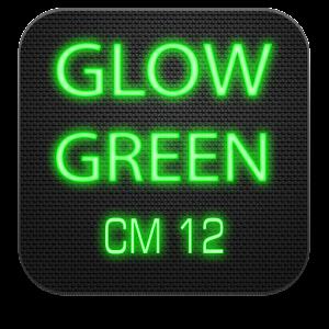 Glow Green CM13 CM12.x Theme v3.1 APK