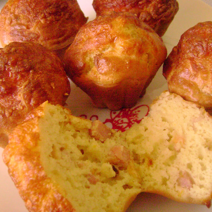 Bacon, Ham, and Carrot Muffins
