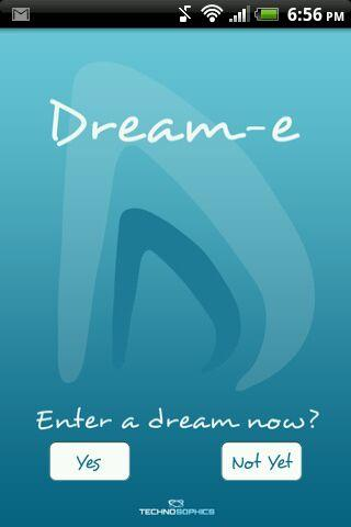 DREAM-e: Dream Analysis A.I.- screenshot