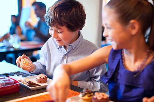 Celebrity Silhouette's chefs will ensure that your children enjoy their dining experience, too.