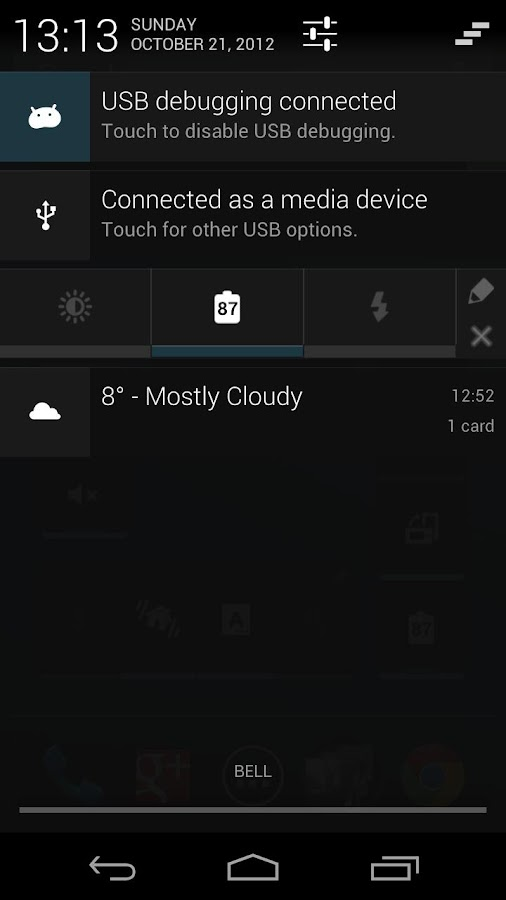 Power Control Plus (widget) - screenshot