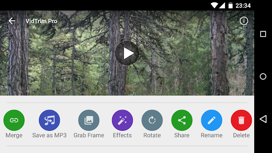 VidTrim Pro - Video Editor Screenshot