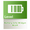 Battery Info Widget Blur F logo