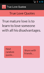 True Love Quotes- screenshot thumbnail