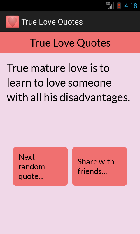 True Love Quotes- screenshot