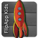 FlipApp Kids Languages HD logo