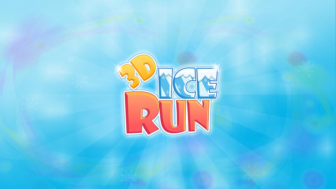 3D Ice Run - screenshot