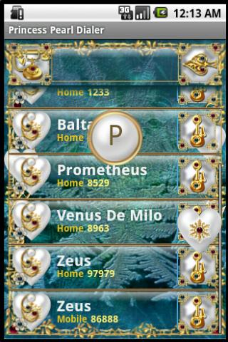 Princess Perl Dialer - screenshot