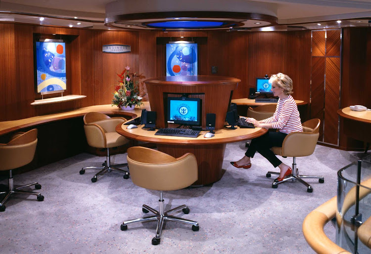 Until now, most cruise lines' Internet connectivity has been fairly awful. Royal Caribbean has been leading the charge to change that, with upgrade to its ships' networks to increase bandwidth speeds, enhance wireless availability and bring high-speed Internet to its newest ships through a new generation of low-orbiting satellites.