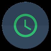 Flat Clock Widget
