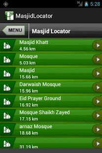 Masjid Finder - screenshot thumbnail