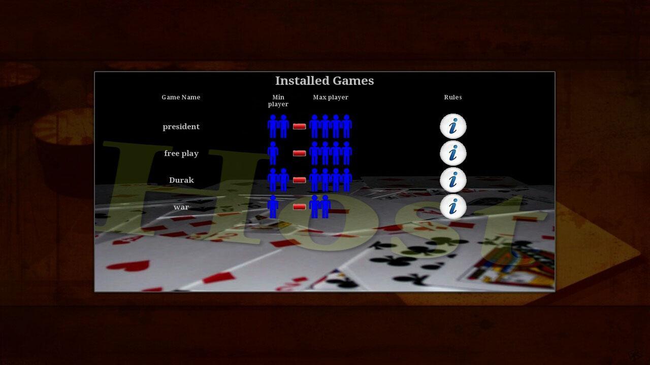 Card Deck Platform- screenshot