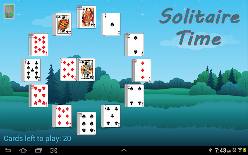 Solitaire Time FREE- screenshot thumbnail