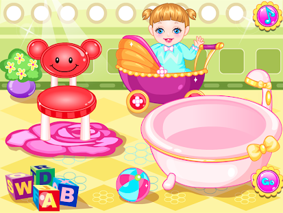 game cute baby bath bed time apk for windows phone android games and apps. Black Bedroom Furniture Sets. Home Design Ideas