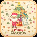 Cozy Santa go locker theme icon