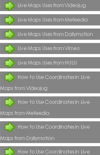 Live Maps Uses
