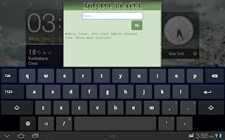 Screenshot of Mobile Phone Tracker