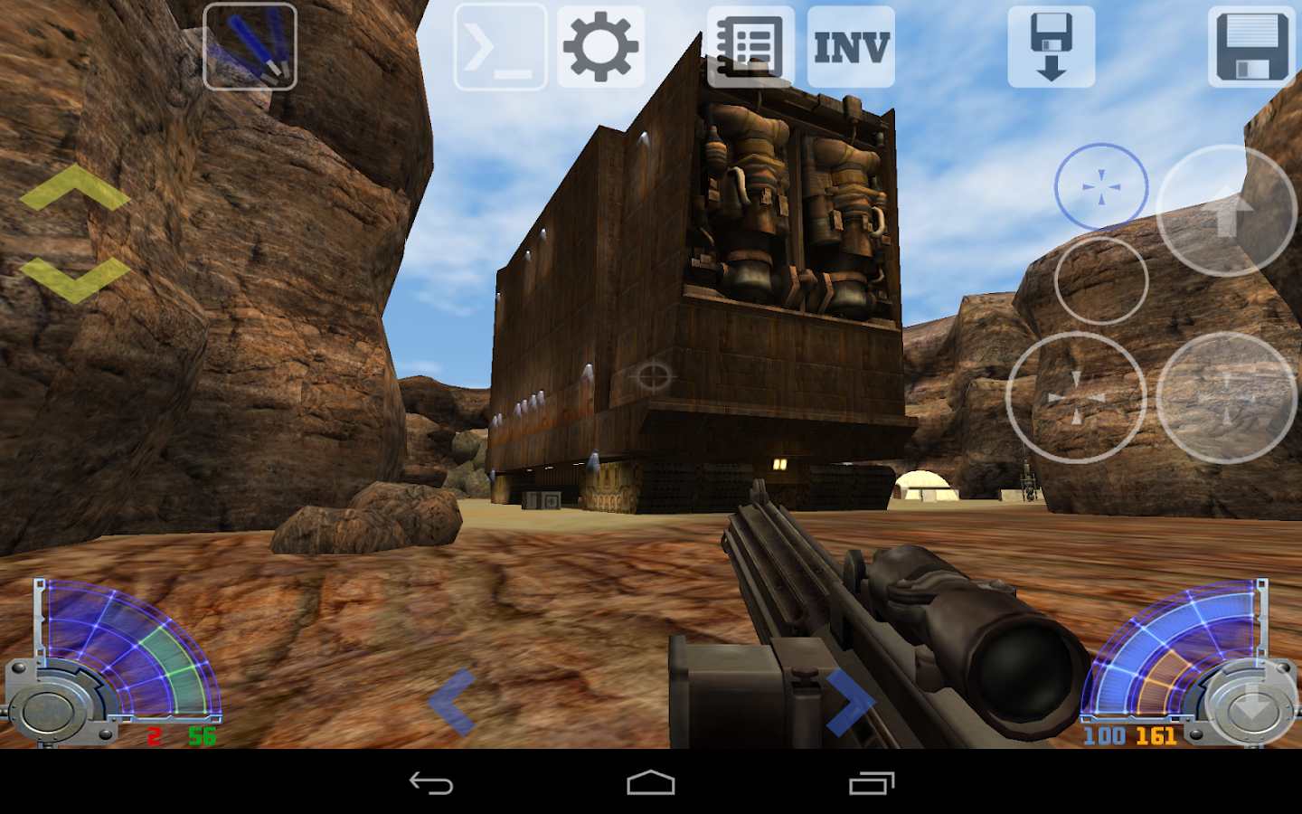 JA-Touch (Jedi Academy port) - screenshot