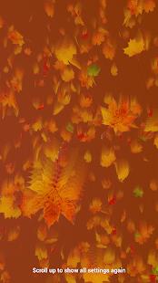 Autumn Leaves Live Wallpaper - screenshot thumbnail