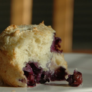 Blueberry Corn Muffins.