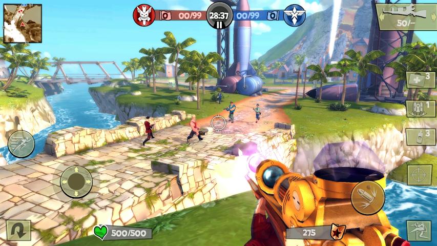 android Blitz Brigade - FPS en ligne ! Screenshot 11