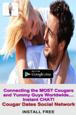 Cougar Dates Online App- screenshot