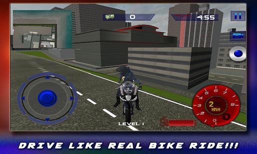 911警用摩托车警察辛