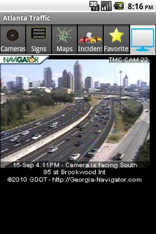 Atlanta Traffic- screenshot